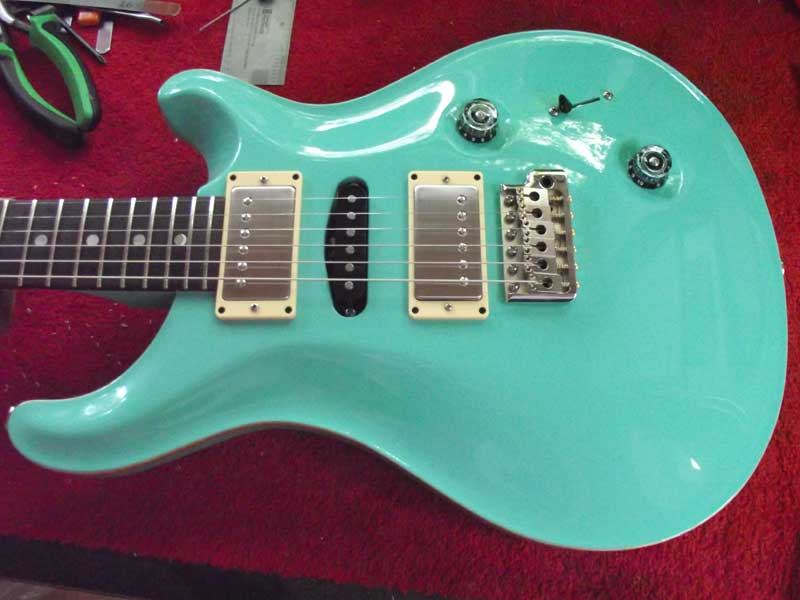 PRS Special in Seafoam Green