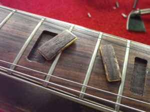 Jedson Les Paul removed inlays