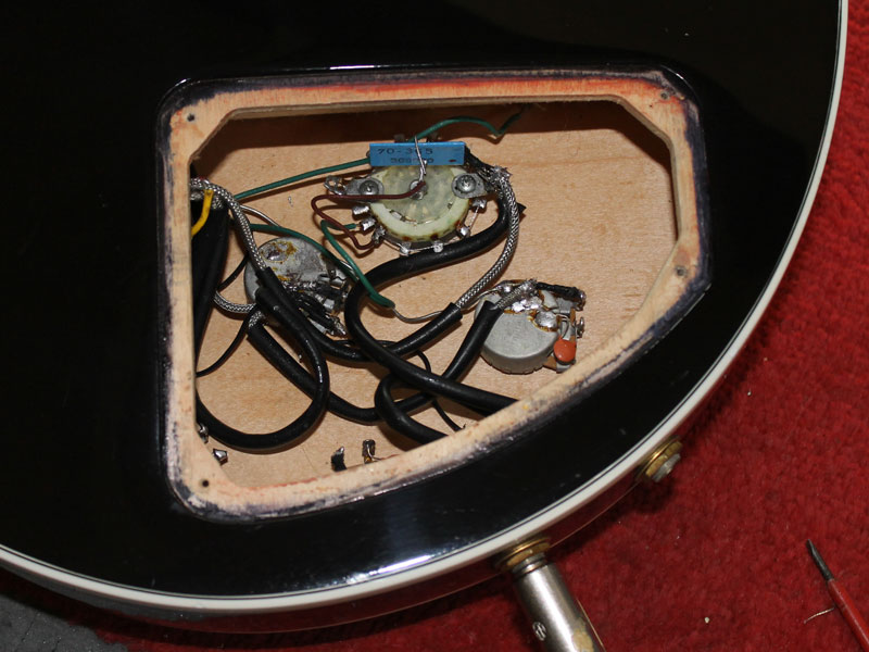 Gibson Lucille Varitone True Bypass Modification