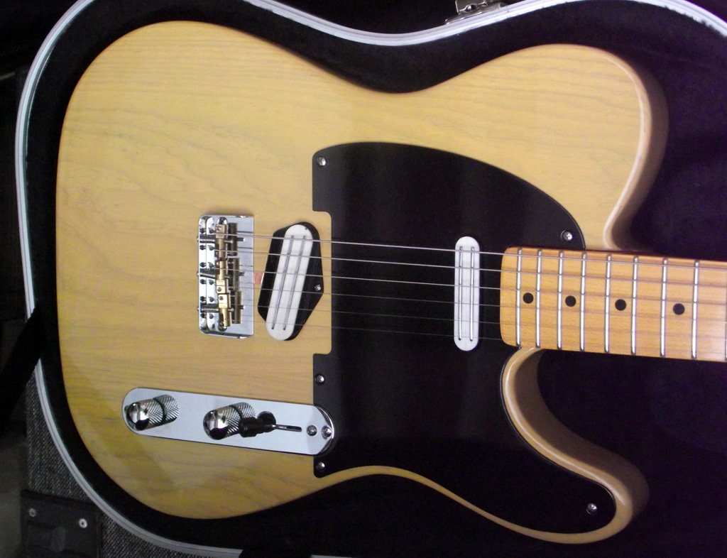 Butterscotch Tele With Joe Barden Pickups Manchesterguitartechcouk