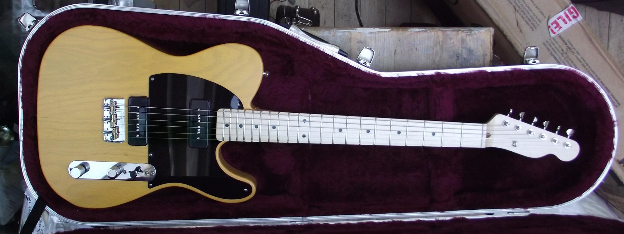 telecaster style guitar with p 90 pickups. Black Bedroom Furniture Sets. Home Design Ideas