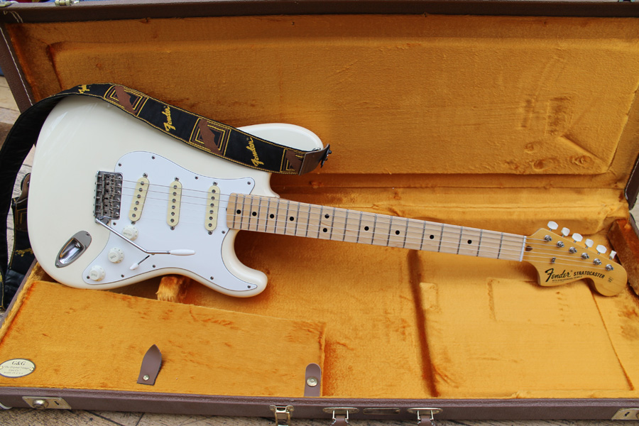 69 replica neck fitted to my Stratocaster